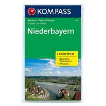 Kompass - Niederbayern - Wandelkaarten
