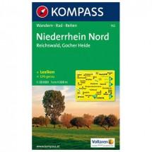 Kompass - Niederrhein Nord - Hiking Maps