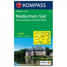 Kompass - Niederrhein Süd - Wanderkarte