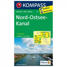 Kompass - Nord - Wanderkarte