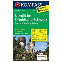 Kompass - Nördliche Fränkische Schweiz - Wanderkarte
