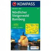 Kompass - Nördlicher Steigerwald - Wanderkarte
