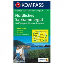Kompass - Nördliches Salzkammergut - Hiking Maps