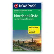 Kompass - Nordseeküste von Hamburg bis Dänemark