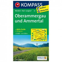 Kompass - Oberammergau und Ammertal - Hiking Maps