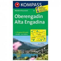 Kompass - Oberengadin - Wandelkaarten