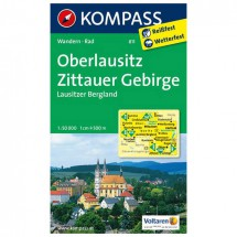 Kompass - Oberlausitz - Wanderkarte