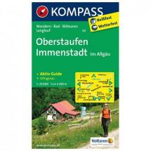 Kompass - Oberstaufen - Wanderkarte