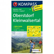 Kompass - Oberstdorf - Cartes de randonnée
