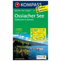 Kompass - Ossiacher See - Hiking Maps