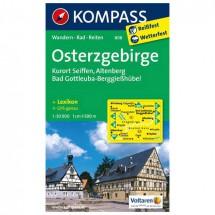 Kompass - Osterzgebirge - Wandelkaarten