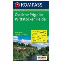 Kompass - Östliche Prignitz - Wanderkarte
