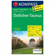 Kompass - Östlicher Taunus - Hiking Maps