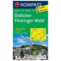 Kompass - Östlicher Thüringer Wald - Wandelkaarten