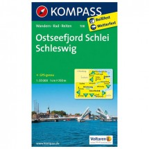 Kompass - Ostseefjord Schlei - Wanderkarte