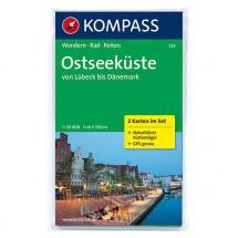 Kompass - Ostseeküste von Lübeck bis Dänemark