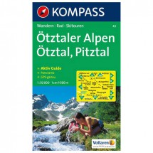 Kompass - Ötztaler Alpen - Wandelkaarten