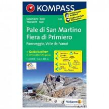 Kompass - Pale di San Martino - Fiera di Primiero - WK 622