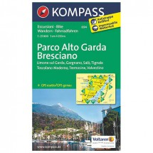 Kompass - Parco Alto Garda - Hiking Maps