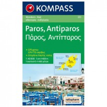 Kompass - Paros - Wandelkaarten