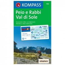 Kompass - Peio e Rabbi - Hiking Maps