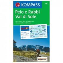 Kompass - Peio e Rabbi - Wanderkarte