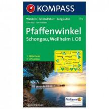 Kompass - Pfaffenwinkel - Wanderkarte