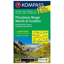 Kompass - Pfunderer Berge/Monti di Fundres - Wandelkaarten