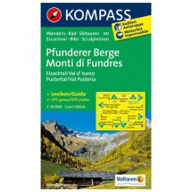 Kompass - Pfunderer Berge/Monti di Fundres - Vaelluskartat