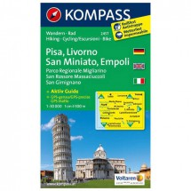 Kompass - Pisa - Wanderkarte