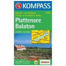 Kompass - Plattensee/Balaton - Cartes de randonnée