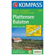 Kompass - Plattensee/Balaton - Wandelkaarten