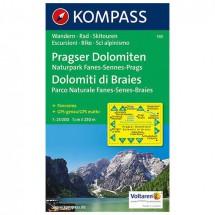 Kompass - Pragser Dolomiten - Cartes de randonnée