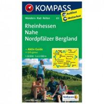 Kompass - Rheinhessen - Wandelkaarten