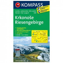 Kompass - Riesengebirge / Krkonose - Wanderkarte