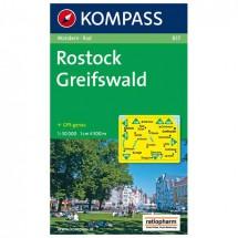 Kompass - Rostock - Wanderkarte