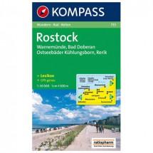 Kompass - Rostock /Warnemünde /Bad Doberan - Wanderkarte