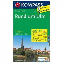 Kompass - Rund um Ulm - Wanderkarte