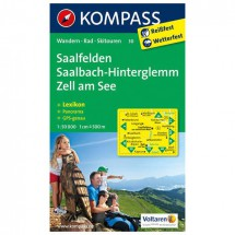 Kompass - Saalfelden - Wanderkarte