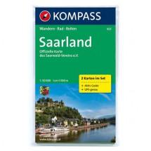 Kompass - Saarland - Wandelkaarten