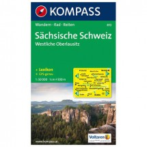 Kompass - Sächsische Schweiz - Cartes de randonnée