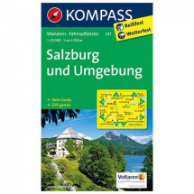 Kompass - Salzburg und Umgebung - Wandelkaarten