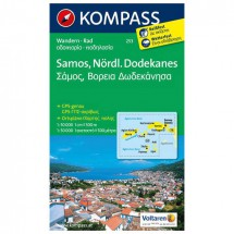Kompass - Samos - Hiking Maps