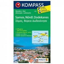 Kompass - Samos - Wanderkarte