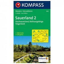 Kompass - Sauerland 2 - Cartes de randonnée