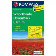Kompass - Schorfheide /Uckermark /Barnim - Wanderkarte