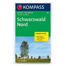 Kompass - Schwarzwald Nord - Wanderkarte