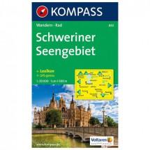 Kompass - Schweriner Seengebiet - Hiking Maps