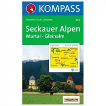 Kompass - Seckauer Alpen - Wandelkaarten