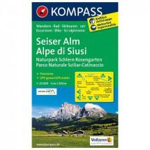 Kompass - Seiser Alm /Alpe di Siusi - Vaelluskartat